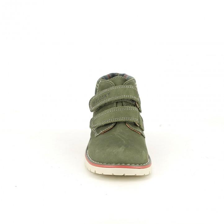 botins PABLOSKY botins verds de pell - Querol online