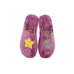 zapatillas casa GARZON estrella y luna - Querol online