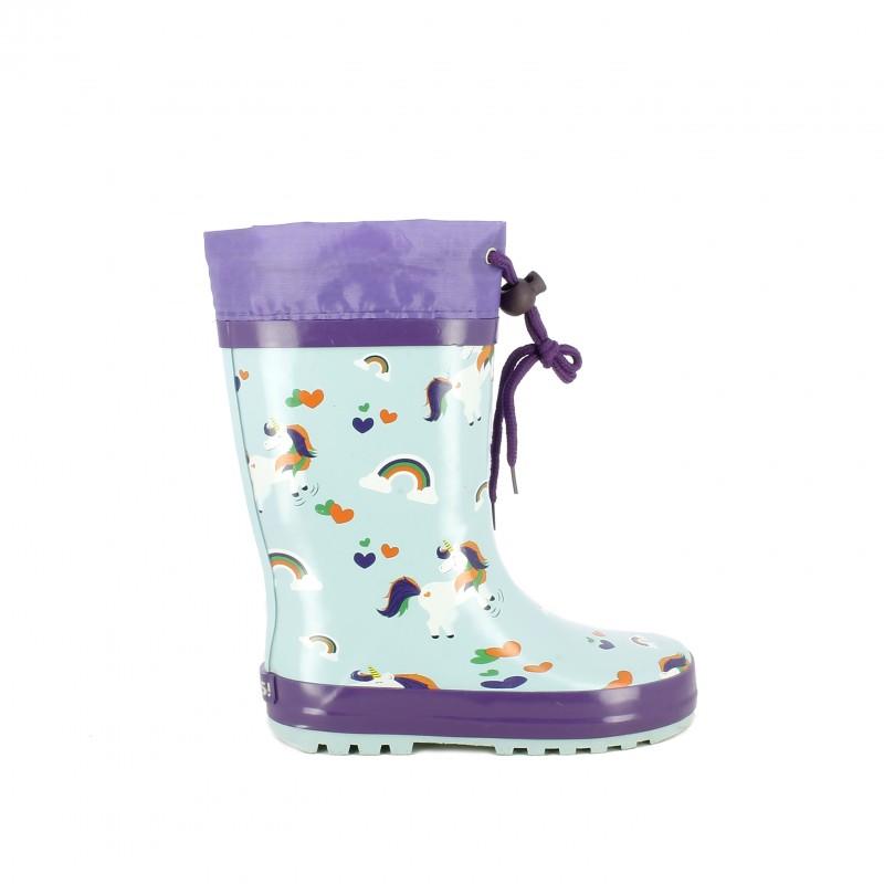 gran venta valor por dinero vista previa de botas agua QUETS! con unicornios
