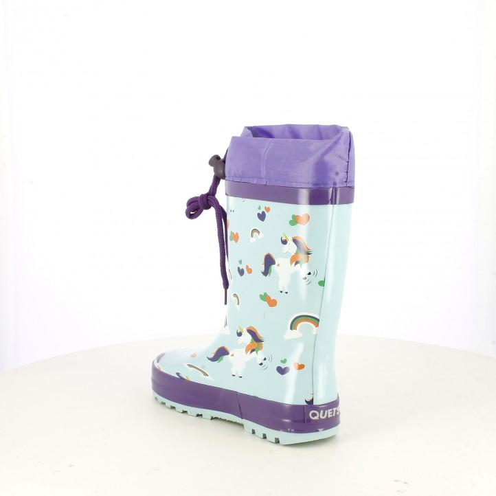 botas agua QUETS! con unicornios - Querol online