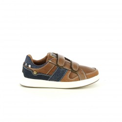 Zapatos LOIS marrones y azules - Querol online