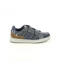 Zapatos LOIS azules y marrones
