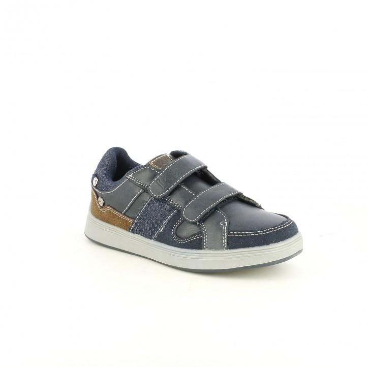 sabates LOIS blaves i marrons - Querol online
