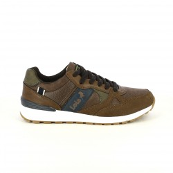 zapatos sport LOIS marrones y azules - Querol online