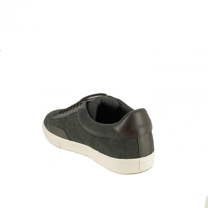 zapatos sport GIOSEPPO grises de serraje - Querol online