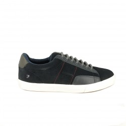 zapatos sport GIOSEPPO azul marino de serraje - Querol online