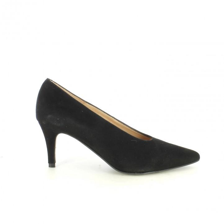 sabates de taló SUITE009 stilettos negres - Querol online