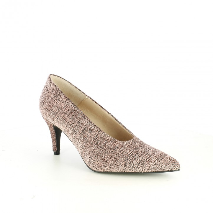zapatos tacón SUITE009 stilettos rosas - Querol online