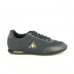 zapatillas deportivas LE COQ SPORTIF negras y doradas - Querol online