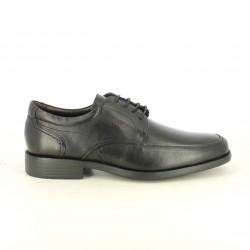 sabates vestir FLUCHOS bluchers negres de pell - Querol online