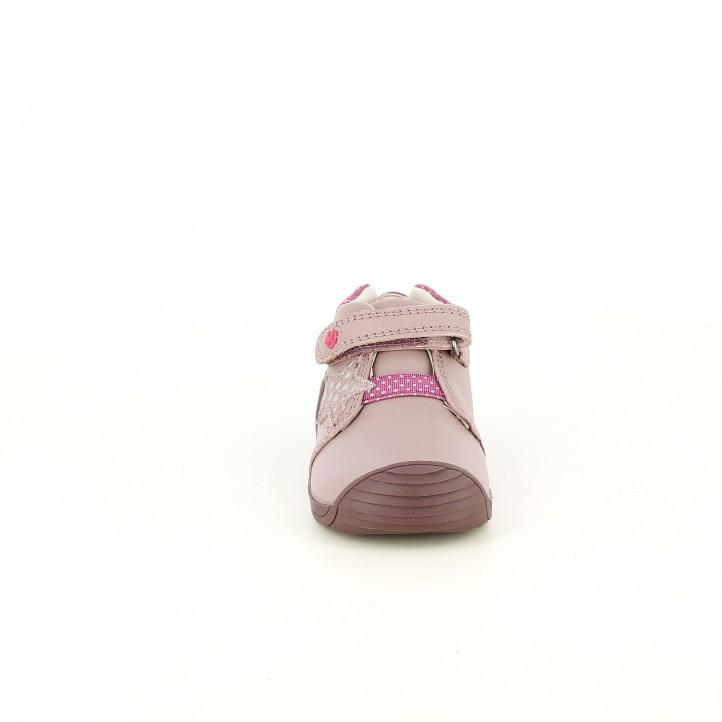 Botas BIOMECANICS rosas con estrellas - Querol online