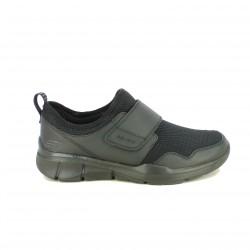 zapatillas deportivas SKECHERS negras con velcro - Querol online