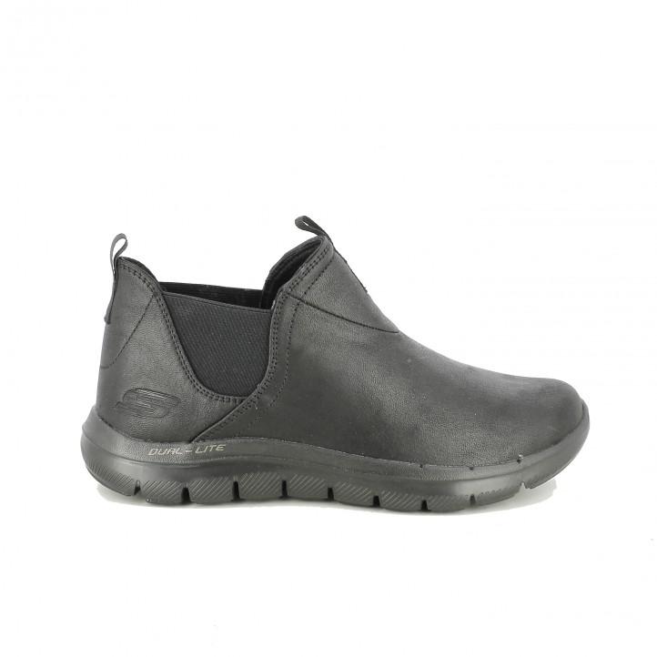 zapatillas deportivas SKECHERS chelsea negras - Querol online