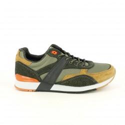 zapatillas deportivas NAPAPIJRI verdes, marrones y naranjas - Querol online