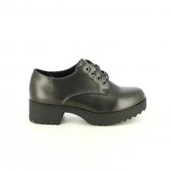 sabates QUETS! bluchers negres sintètics - Querol online