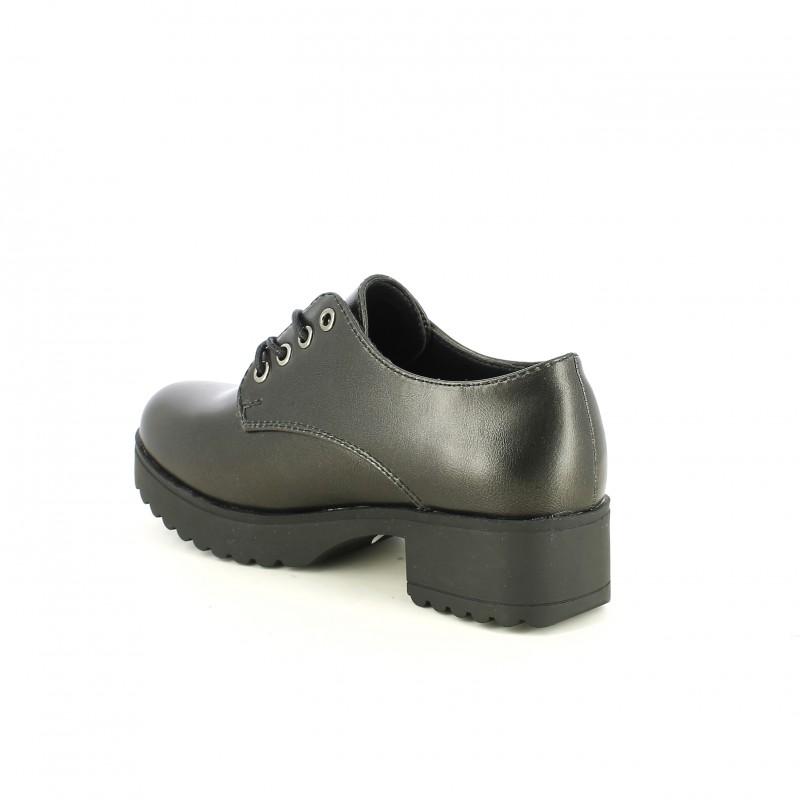 Quets Querolets Zapatos Bluchers Sintéticos Negros ccfnW