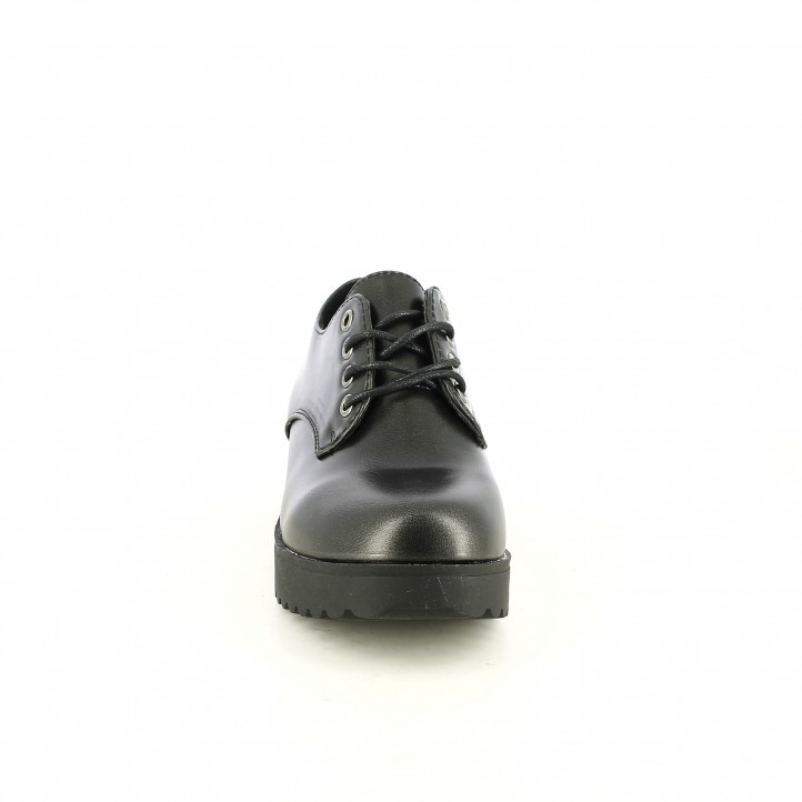 zapatos QUETS! bluchers negros sintéticos - Querol online