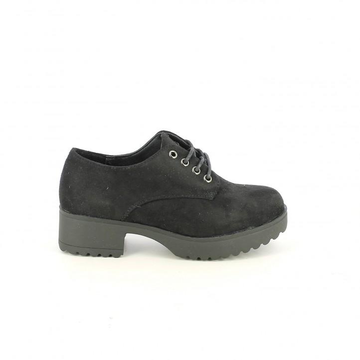 sabates QUETS! bluchers negres textils - Querol online