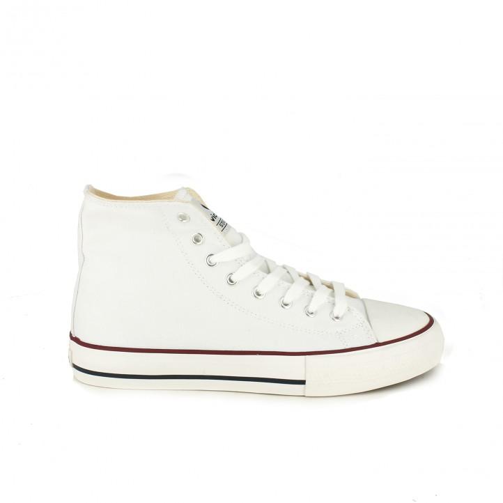 dd94c31230 zapatillas lona VICTORIA botas blancas - Querol online
