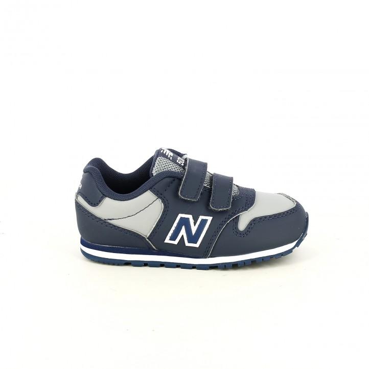 72844bd9e50 zapatillas deporte NEW BALANCE 500 azules - Querol online ...