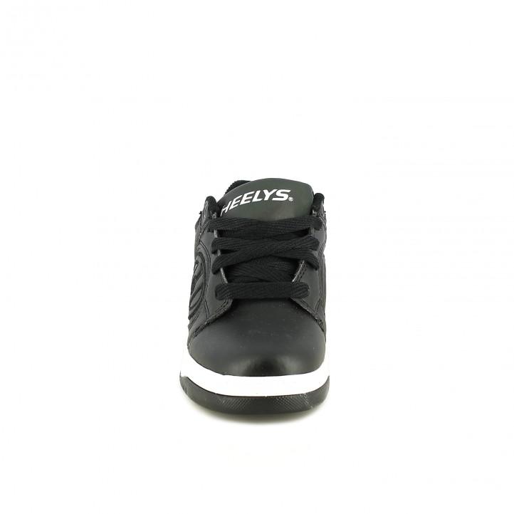 zapatillas deporte HEELYS negras con ruedas - Querol online