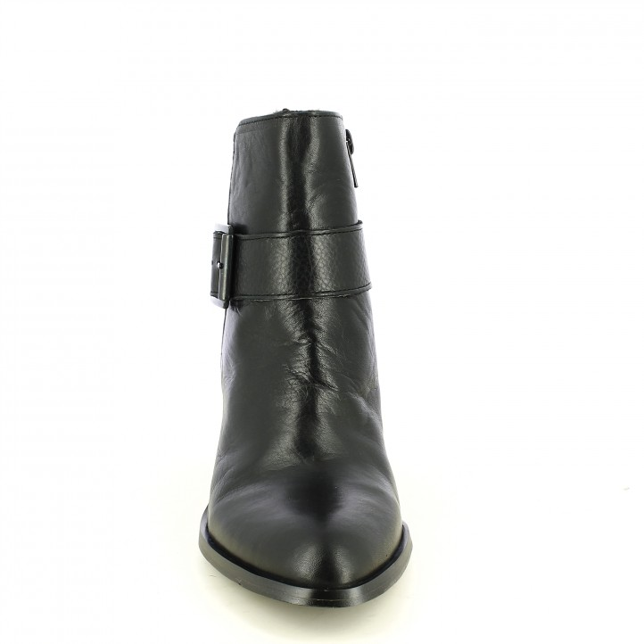 botines tacón REDLOVE de piel negros - Querol online