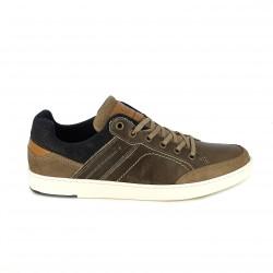sabates sport LOBO marrons i blaves amb animal print - Querol online