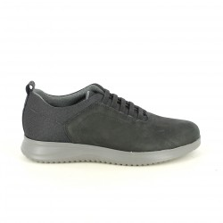 sabates sport LOBO negres amb cordons elàstics - Querol online
