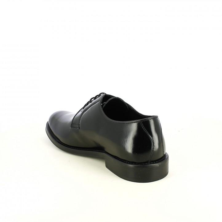 sabates vestir BE COOL negres de pell - Querol online