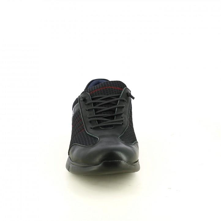 sabates sport BE COOL negres amb cordons de goma - Querol online