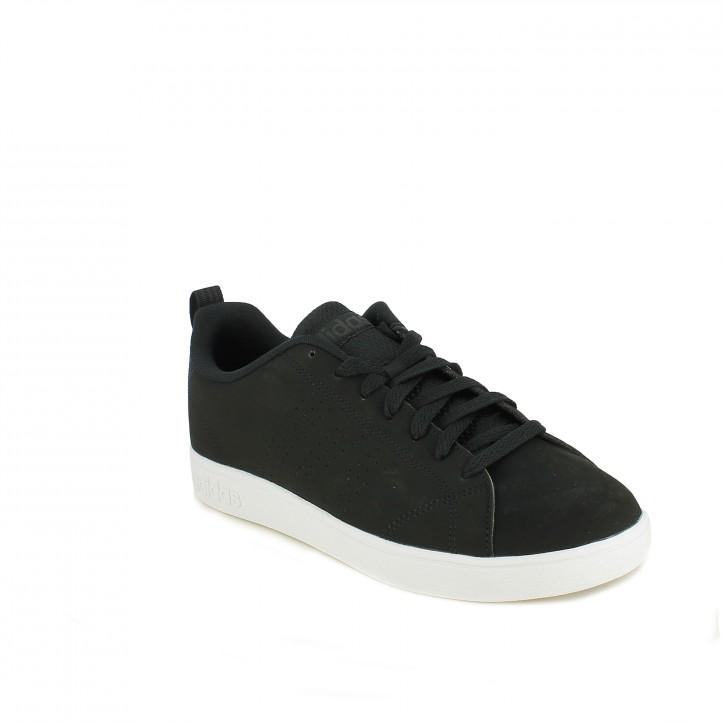 zapatillas deportivas ADIDAS advantage negras - Querol online