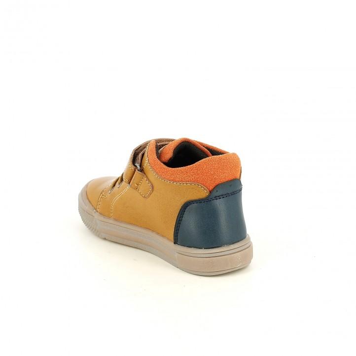botines K-TINNI marrones, azules y naranjas - Querol online