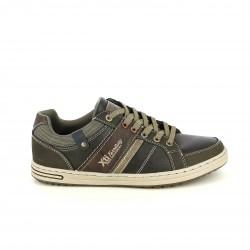 sabates sport XTI marrons amb ratlles - Querol online