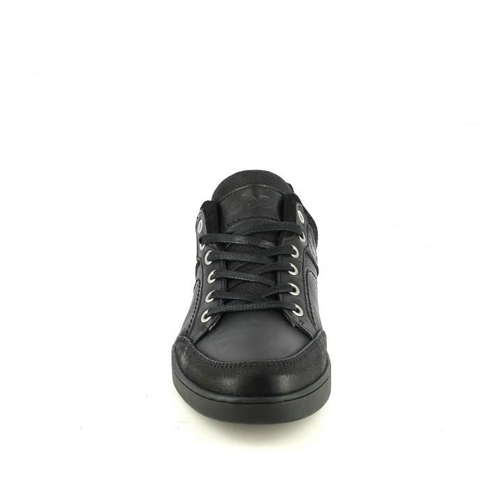 sabates sport LOBO negres amb animal print - Querol online