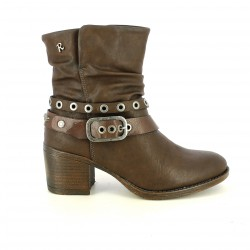 botins de taló REFRESH FOOTWEAR marrons cowboy - Querol online