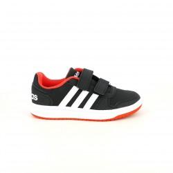 zapatillas deporte ADIDAS negras, blancas y rojas - Querol online