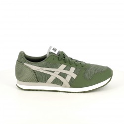 zapatillas deportivas ASICS verdes y grises - Querol online