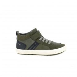 sabates GEOX verdes i blaves amb cordons elàstics - Querol online