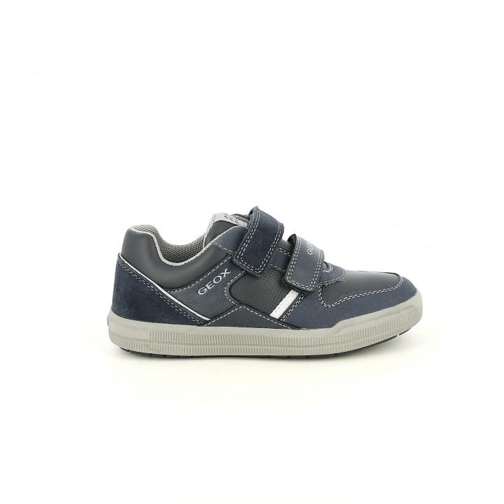 zapatos GEOX azul marino de piel - Querol online