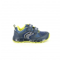 zapatillas deporte GEOX azules con luces - Querol online