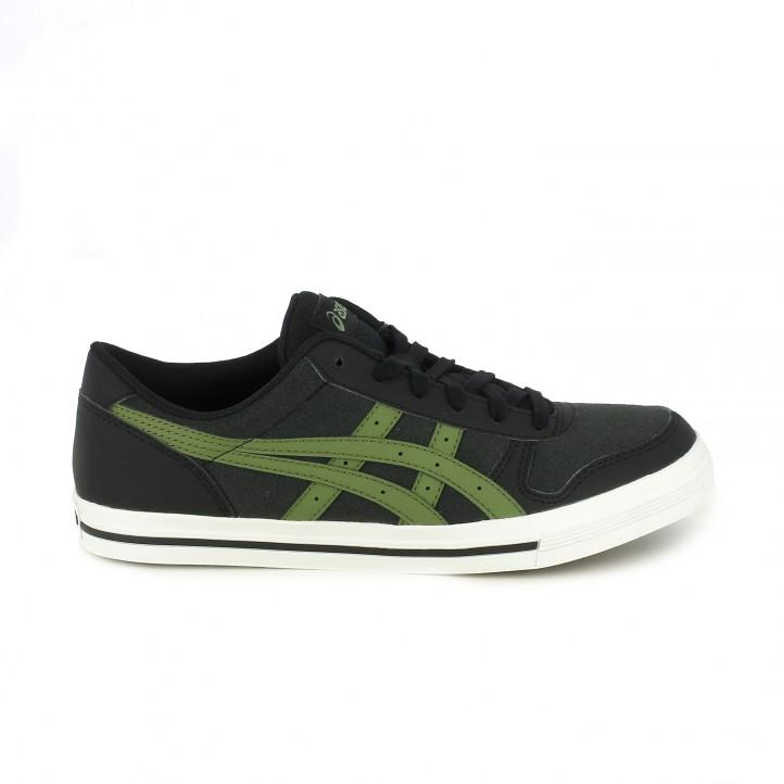 01882cfedb9 zapatillas deportivas ASICS negras y verdes - Querol online ...