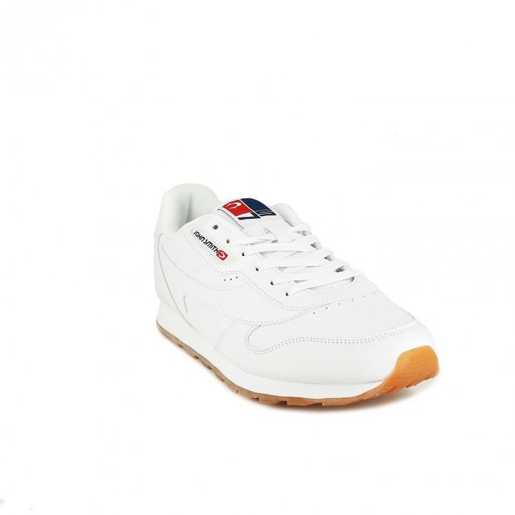 zapatillas deportivas JOHN SMITH blancas con cordones - Querol online