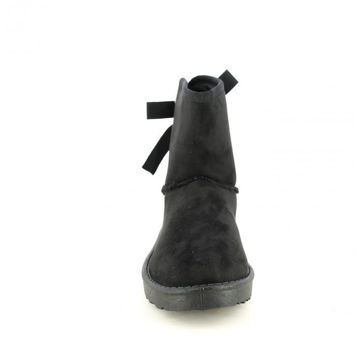 botas planas OWEL australianas negras - Querol online