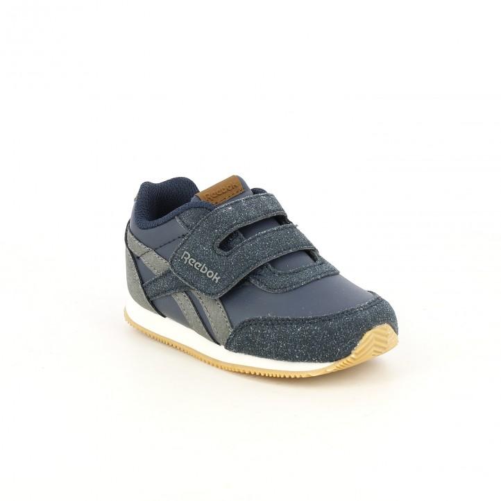 zapatillas deporte REEBOK azules, grises y marrones - Querol online
