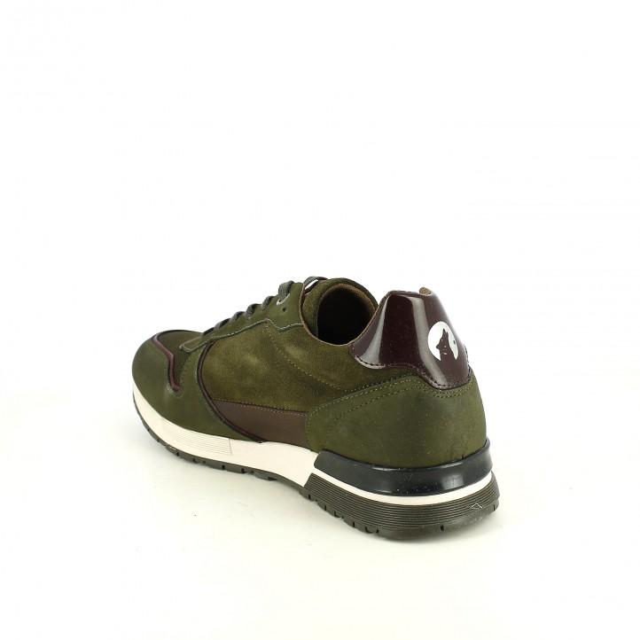 sabates sport LOBO verdes de pell - Querol online