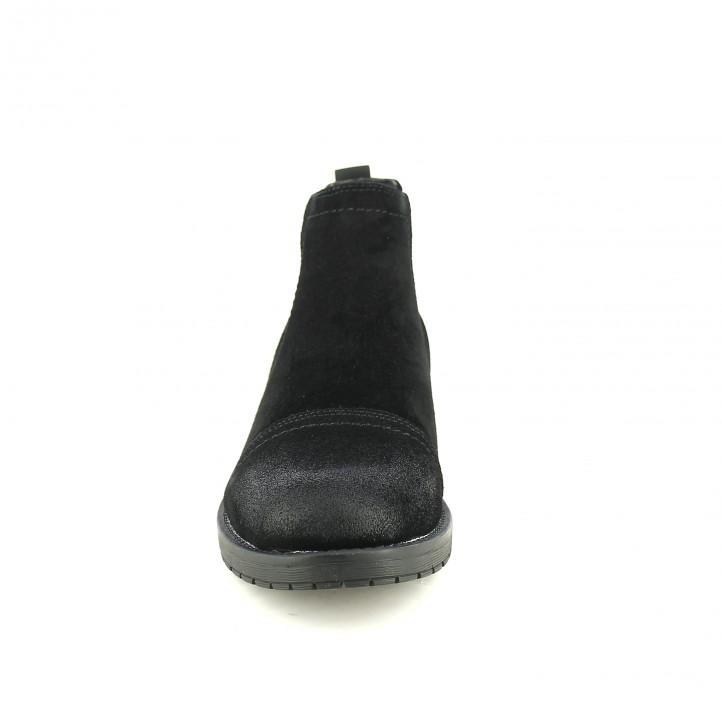 botins LOBO chelsea negres de serratge - Querol online