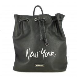 complementos REFRESH FOOTWEAR mochila negra new york - Querol online