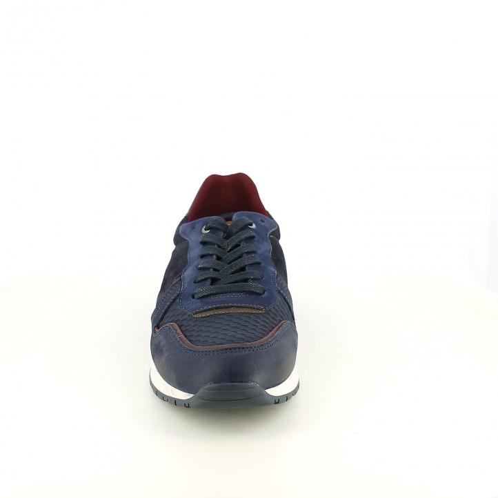 sabates sport LOBO blaves de pell - Querol online