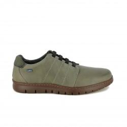 sabates sport BAERCHI de pell amb cordons elàstics - Querol online