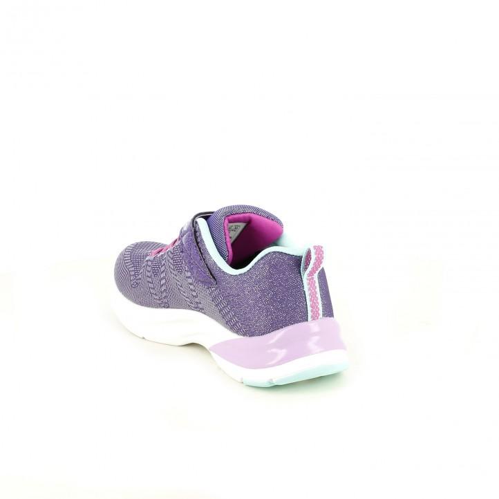 zapatillas deporte SKECHERS lilas - Querol online